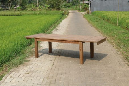 TEAK&WOOD_DINING TABLE_UITSCHUIF DENGKLEH_1