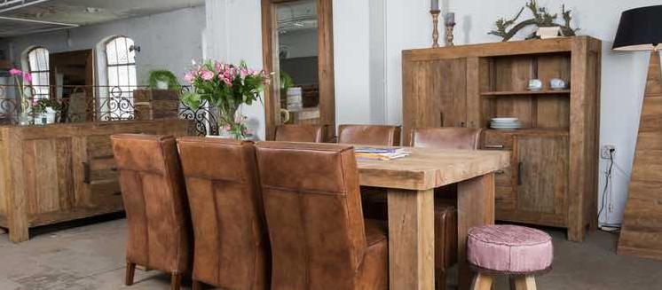 Landelijke meubels voor een sfeervol interieur teak en wood for Meubels teak