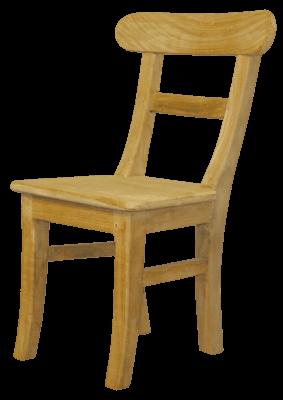 Teak stoel