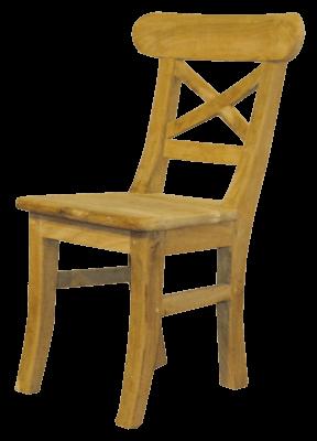Teakhouten stoel