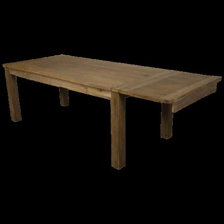 Eettafel uitschuif Dengkleh hout