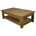 Salontafel Lesung + plank