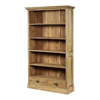Teak boekenkasten