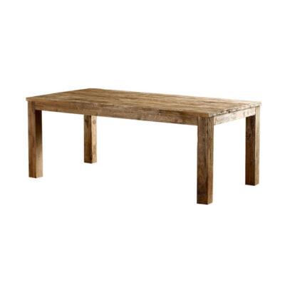 Teak Houten Tafel Uitschuifbaar.Teak Tafel Voor Een Sfeervolle Eetkamer Teak En Wood