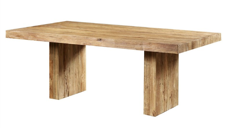 Moderne teak tafel