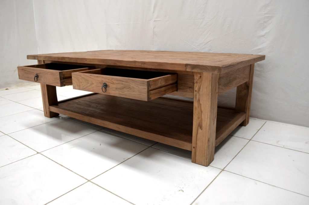 Teak salontafel in Indonesië