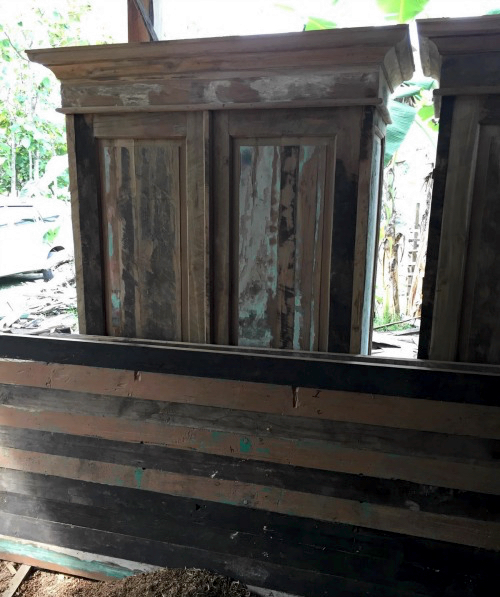 Gerecyclede meubels uit Indonesië