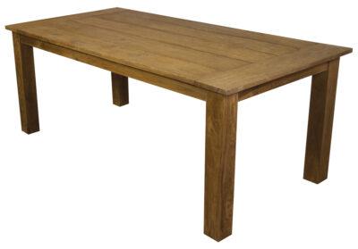 Teakhouten eettafel voor een sfeervolle eetkamer teak en wood