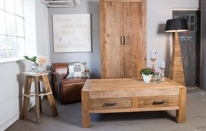 Woonkamer Zonder Salontafel : Tips bij het aanschaffen van een salontafel teak en wood