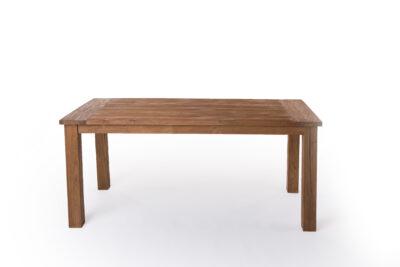 Teakhouten Tafel Rond : Teakhouten eettafel voor een sfeervolle eetkamer teak en wood