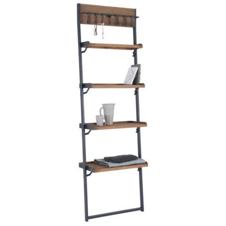 teakhouten ladder