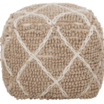 ML 927002 Pouf Princess Beige Ivory_1