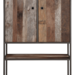 TU 610010 Tuareg Cupboard 2 doors 1 rack_1