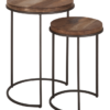 TU 660010 Tuareg Side table round high set of 2_1