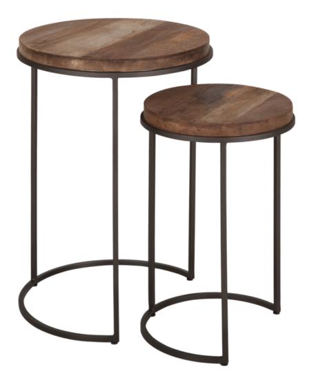 TU 660010 Tuareg Side table round high set of 2_1